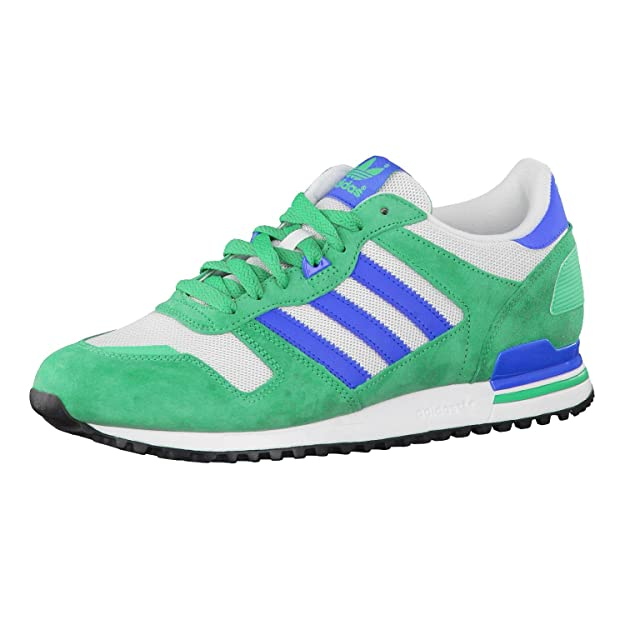 010b2cd357d5f Adidas ZX 700 M19396 Mens shoes Blue-Green-White 10 D(M) US  Amazon.in   Shoes   Handbags
