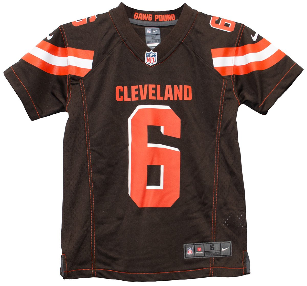 878345eaa Amazon.com   Nike Baker Mayfield Cleveland Browns Team Color Youth Game  Jersey   Sports   Outdoors