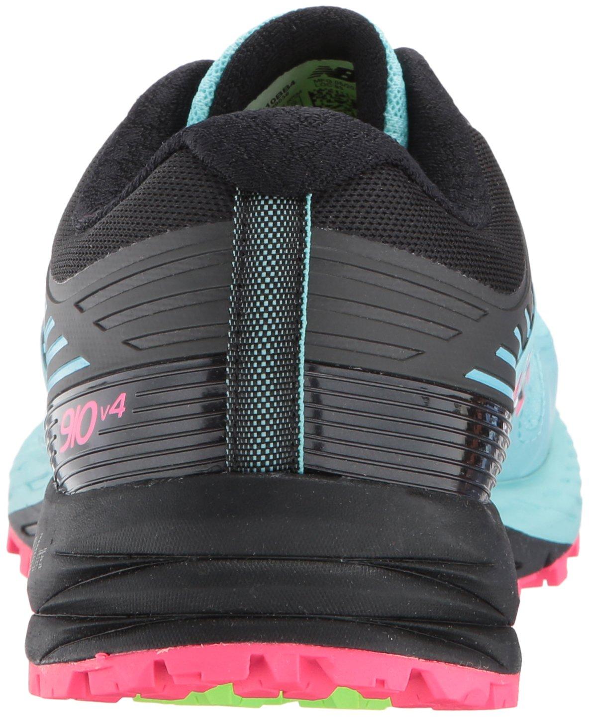 New Balance Women's 910v4 Running Shoe B01MXNY6WP 6.5 D US|Sea Spray/Alpha Pink