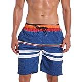 MILANKERR Men's Swim Trunks Beach Shorts