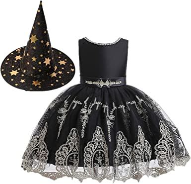 LZH Flower Girl Dress Baby Toddlers Sequin Dress Tutu Kids Party Dress Bridesmaid Wedding Gown