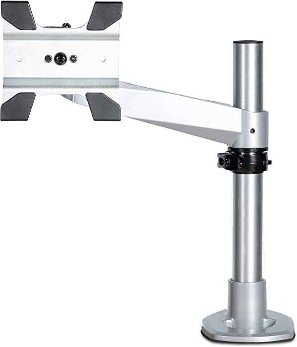 "StarTech.com Desk Mount Monitor Arm – Premium - Articulating – for Monitors 12"" to 34"" – Adjustable VESA Single Monitor Arm – Aluminum (ARMPIVOTB2)"