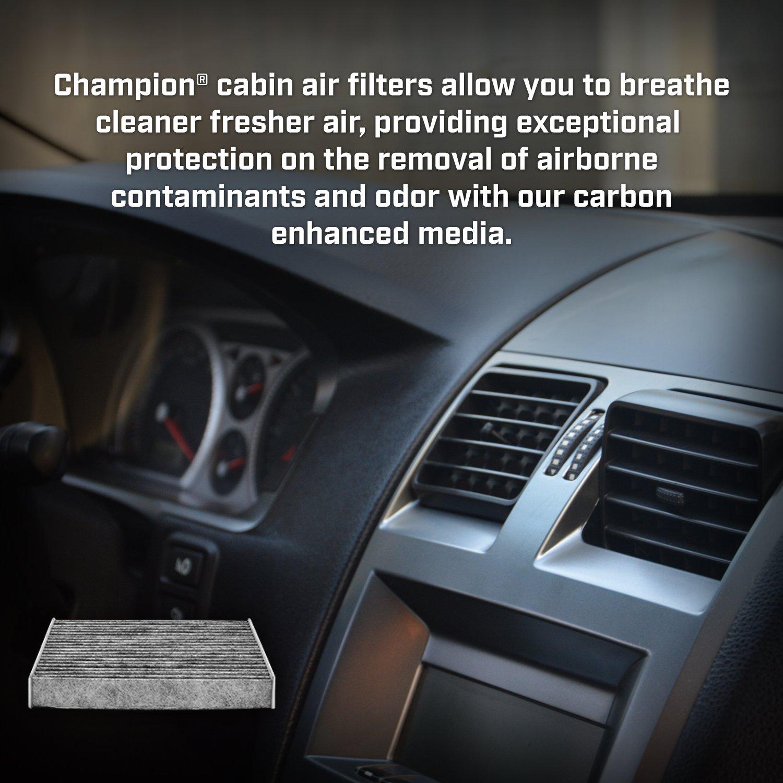 Amazon.com: Champion CCF7781 Activated Carbon Replacement Cabin Air Filter:  Automotive