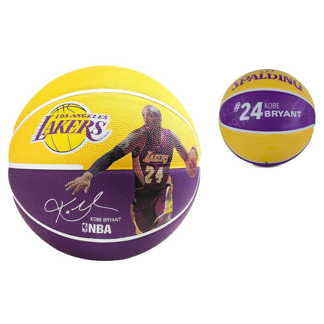 Spalding Ballon de basket Bryant, joueur de la NBA, aubergine, 7 ...