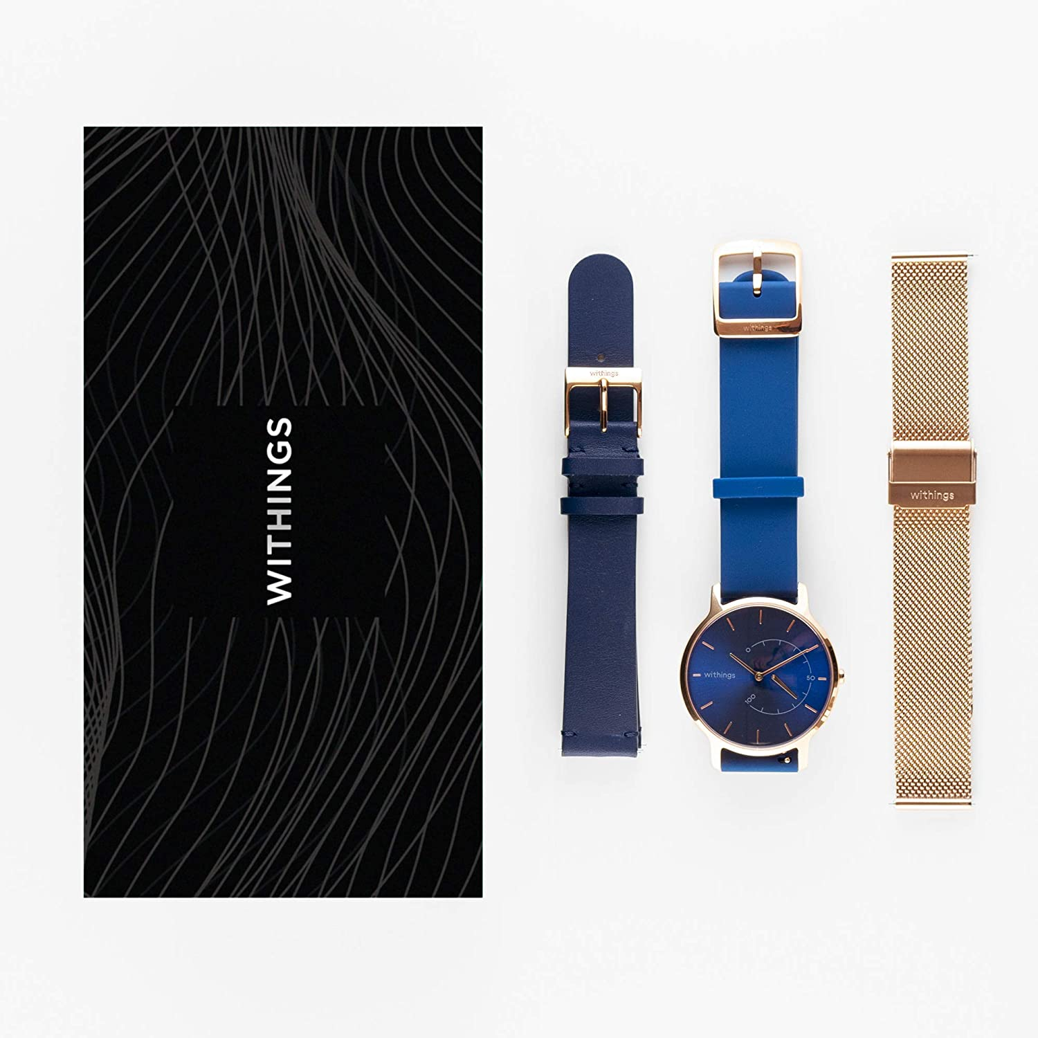 Amazon.com : Withings Box - One Hybrid Smartwatch with 3 ...