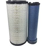 New Engine Air Filter Set Free Shipping Fit For Donaldson P828889 P829333