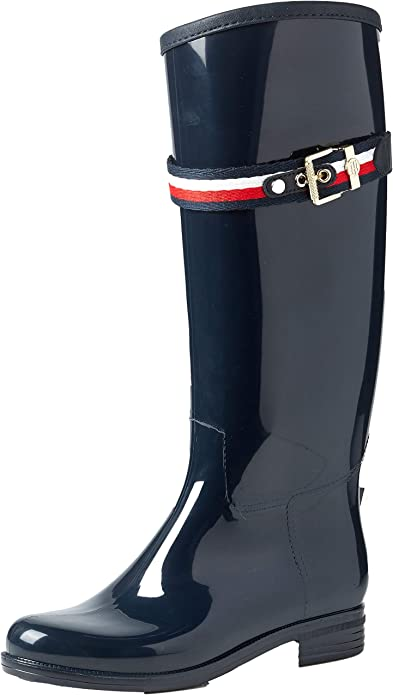 TOMMY HILFIGER, CORPORATE BELT LONG BOOT Klassische Stiefel