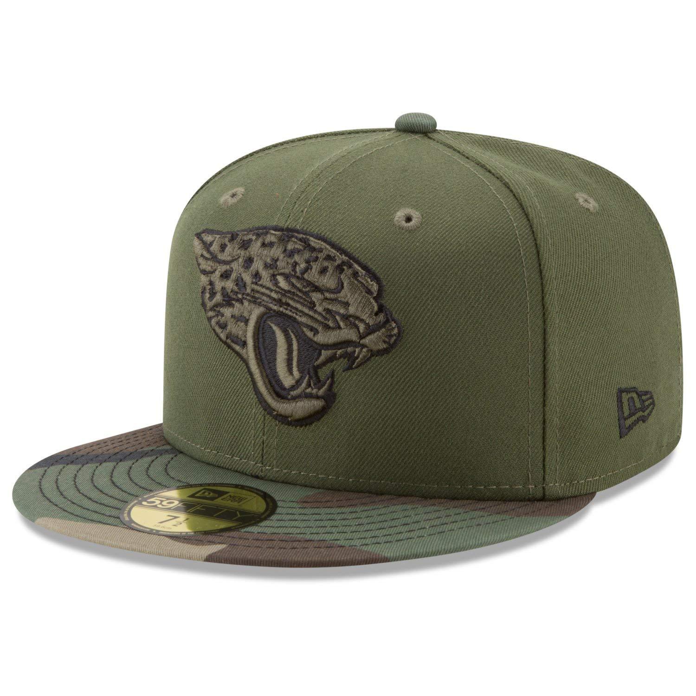 New Era 59Fifty Cap Jacksonville Jaguars Wood camo