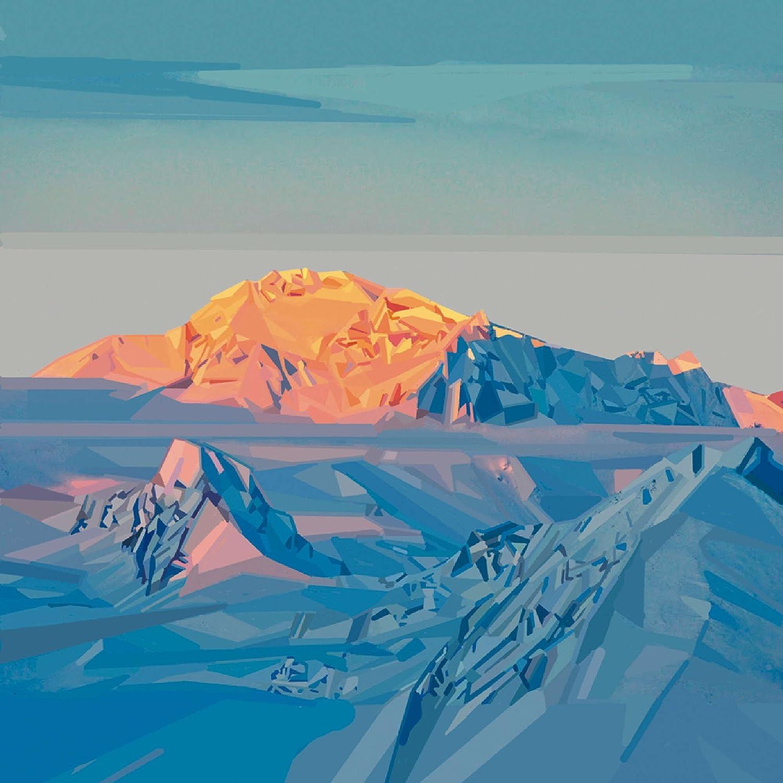 Pittura Bianca Per Interni Obi.Vetro Immagine Artland Quadro Su Tela Paesaggi Geografia Werner
