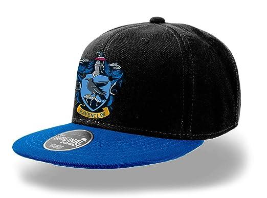 28c0b9fe53124 Harry Potter Official Hogwarts Ravenclaw Crest Snapback Cap Hat - One Size   Amazon.co.uk  Clothing