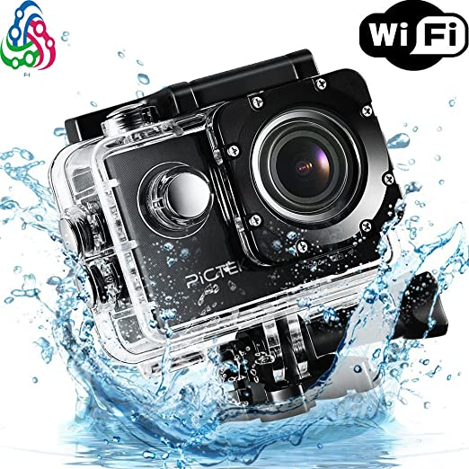 Fay trade; SUPER SPORTS 4K ULTRA HD 1080P , WI FI ACTION CAMERA  Silver