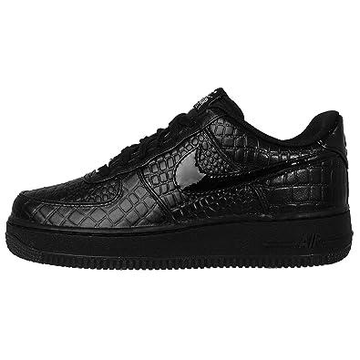 350652413f4 Nike Air Force 1 Low Black Black Crocodile Effect Black Size  6 ...