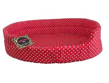 Ducomi fufy - Cuna para Perros y Gatos de Oxford de Oxford - Blanda Caseta para Mascotas - Fácil de Lavar: Amazon.es: Productos para mascotas