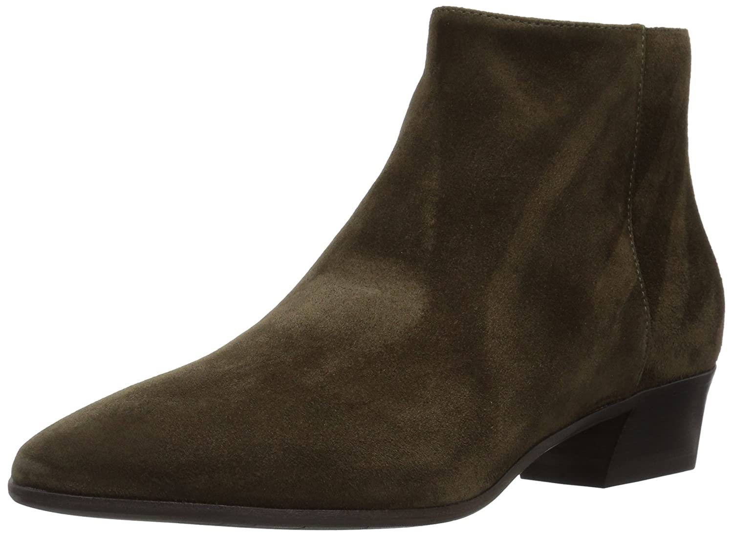 Aquatalia Women's Fire Suede Ankle Boot B06WVBFY5Y 7.5 M US|Olive