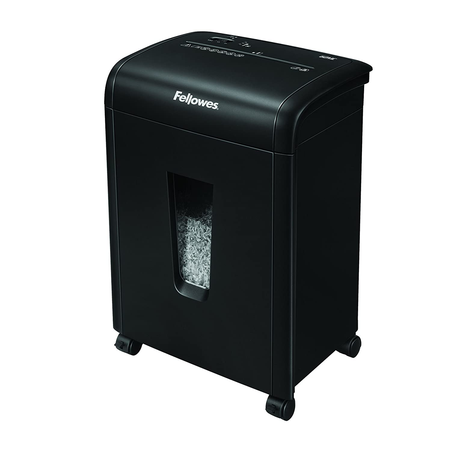 Fellowes 62MC 10-Sheet Micro-Cut Home and Office Paper Shredder with Safety Lock for Added Protection (4685101)