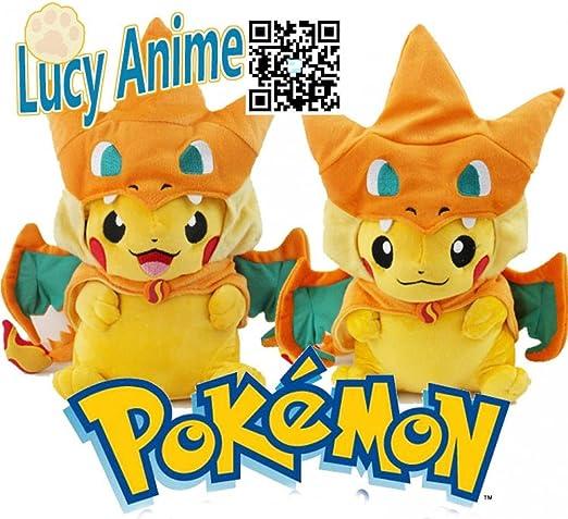 Anime Dessin Anime Pokemon Pikachu Dracaufeu Edition Haute Guality