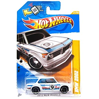 Hot Wheels 2012 New Models BMW 2002 21/50 White: Toys & Games