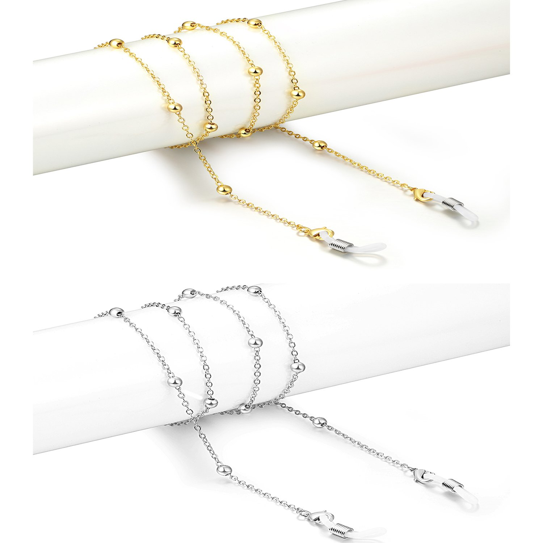 Fashion Retro Glasses Chain Beaded Glasses Glasses Retainer Strap For Womens