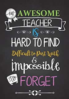 Teacher Appreciation Gift: It Takes a Big Heart ~ Notebook or