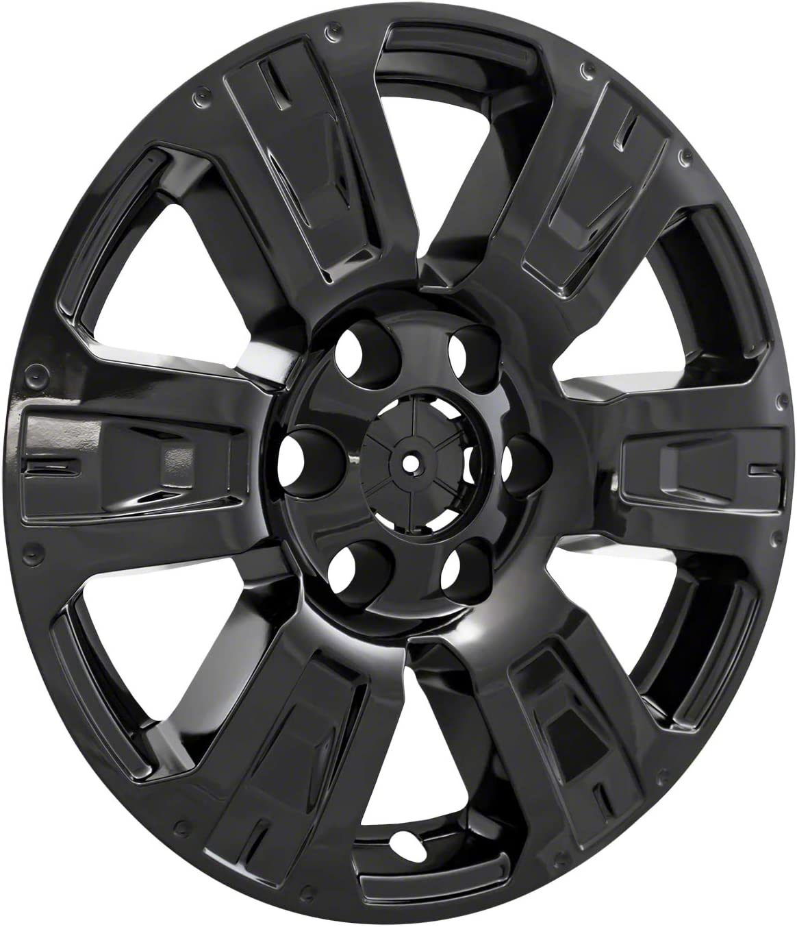 18 4 Pack COAST2COAST IMP403BLK Black Impostor Wheel Skin