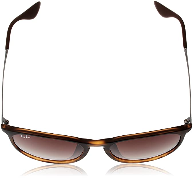 8ba437cb07a4e Amazon.com  Ray-Ban Women s Erika (f) Aviator Sunglasses AVANA GOMMATO 53.7  mm  Clothing