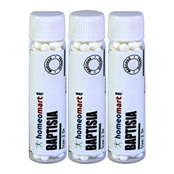 Amazon Homeomart Baptisia 2 Dram Globules In 6C Potency