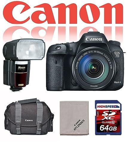 Canon EOS 7d Mark II cámara réflex digital con 18 - 135 mm IS STM ...