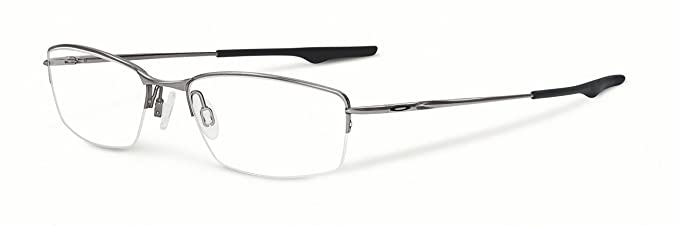 ddc760a6a4 Image Unavailable. Image not available for. Colour  Oakley Wingback  Eyeglasses OX5089-0253 Gunmetal Clear Demo 53 18
