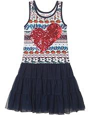 b3ed545d9 Desigual Girl Knit Dress Straps (Vest bridgerport)