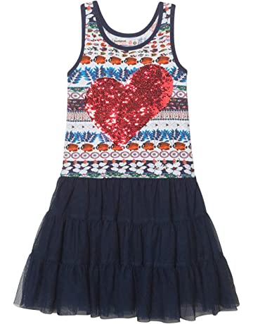 0b70649fc19c0 Desigual Girl Knit Dress Straps (Vest bridgerport)