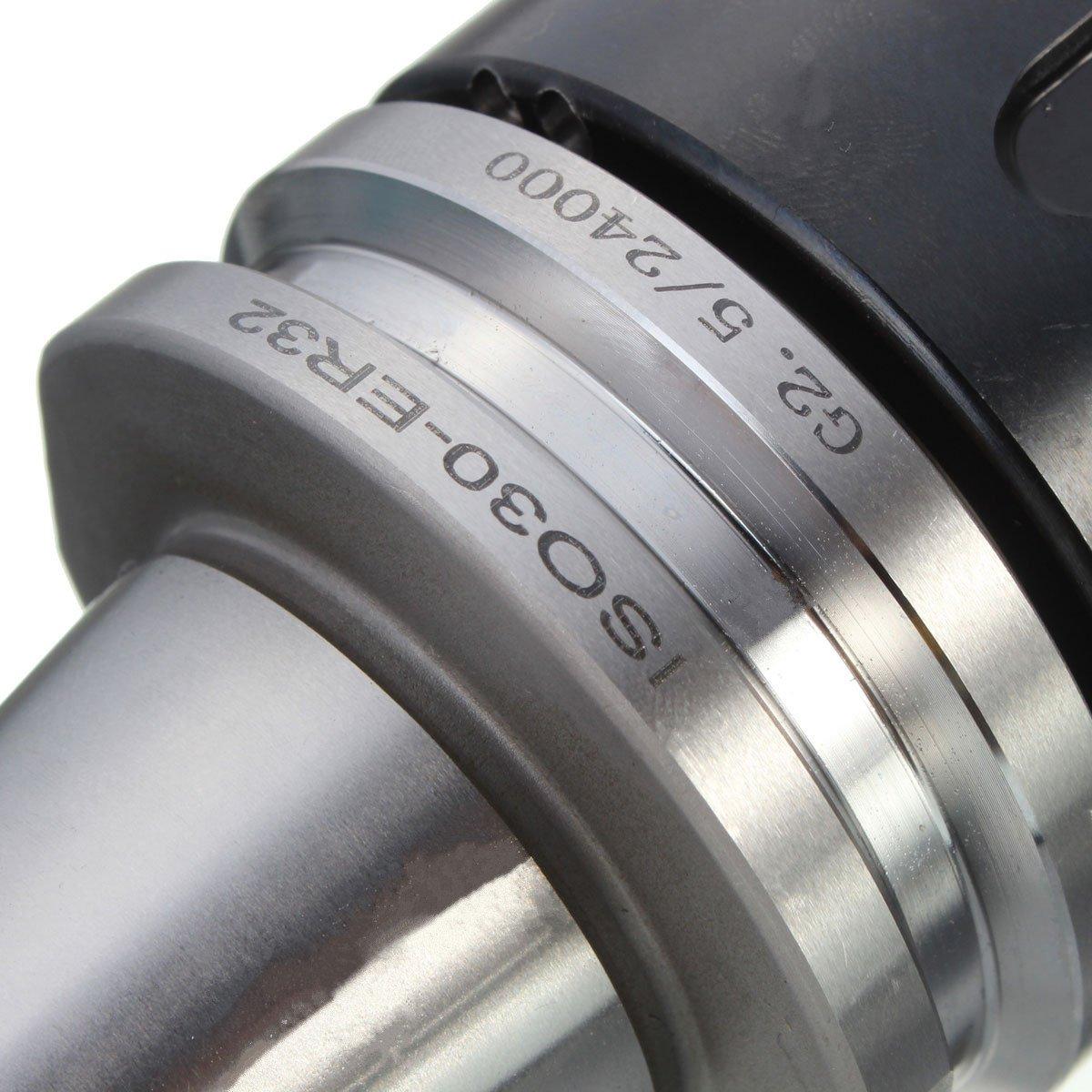Naliovker 3pzs metal ISO30 ER32 50 chuck collet de equilibrio G2.5 24000rpm CNC Portaherramientas
