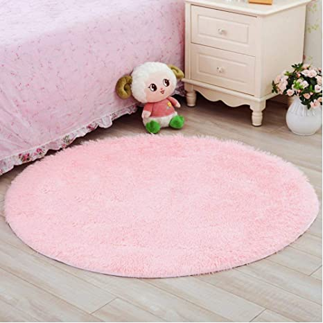 amazon com lochas round area rugs ultra soft girls room rug baby