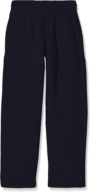 Deep Navy 9-11 240 GSM Fruit of the Loom Childrens Big Girls Lightweight Jogging Pants//Bottoms