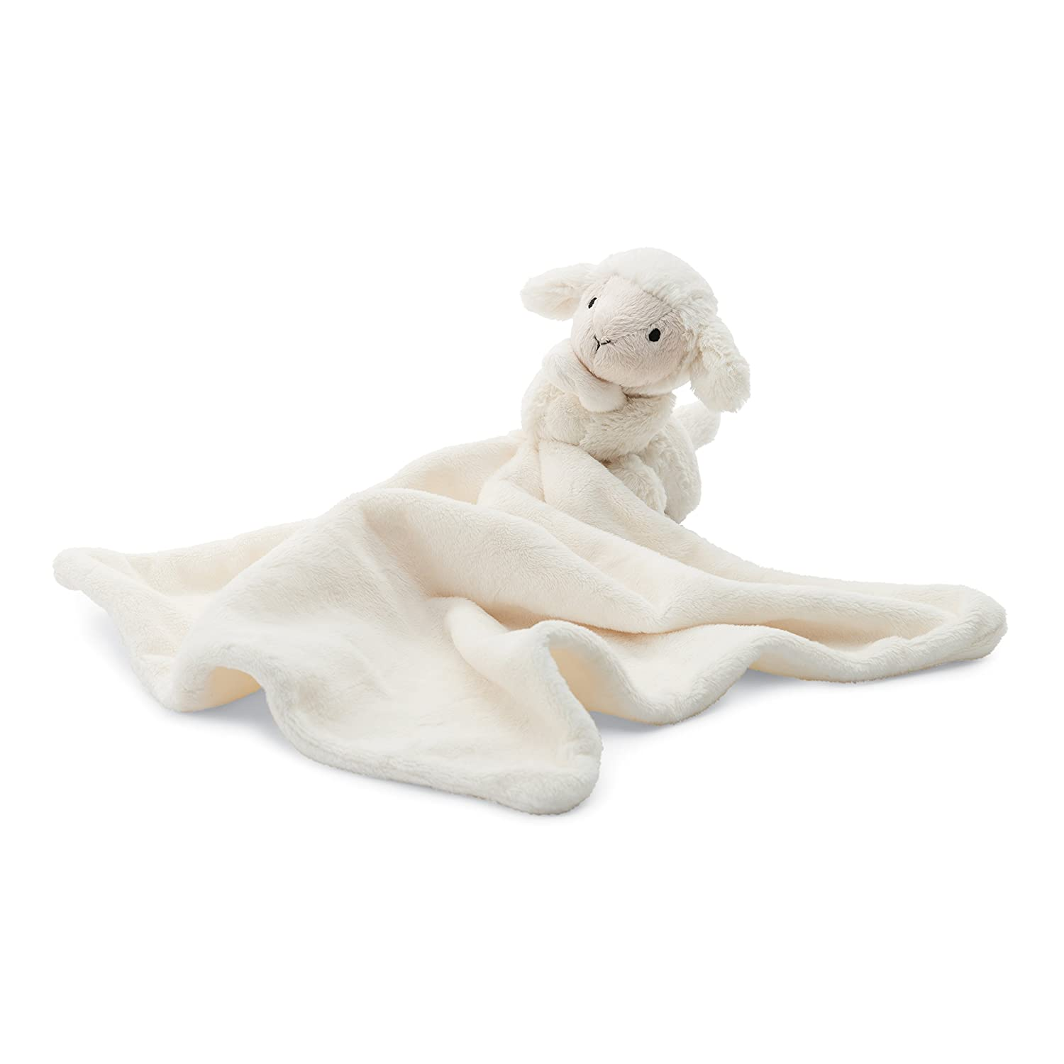 bb6d4bc9be686 Jellycat Bashful Lamb Baby Security Blanket