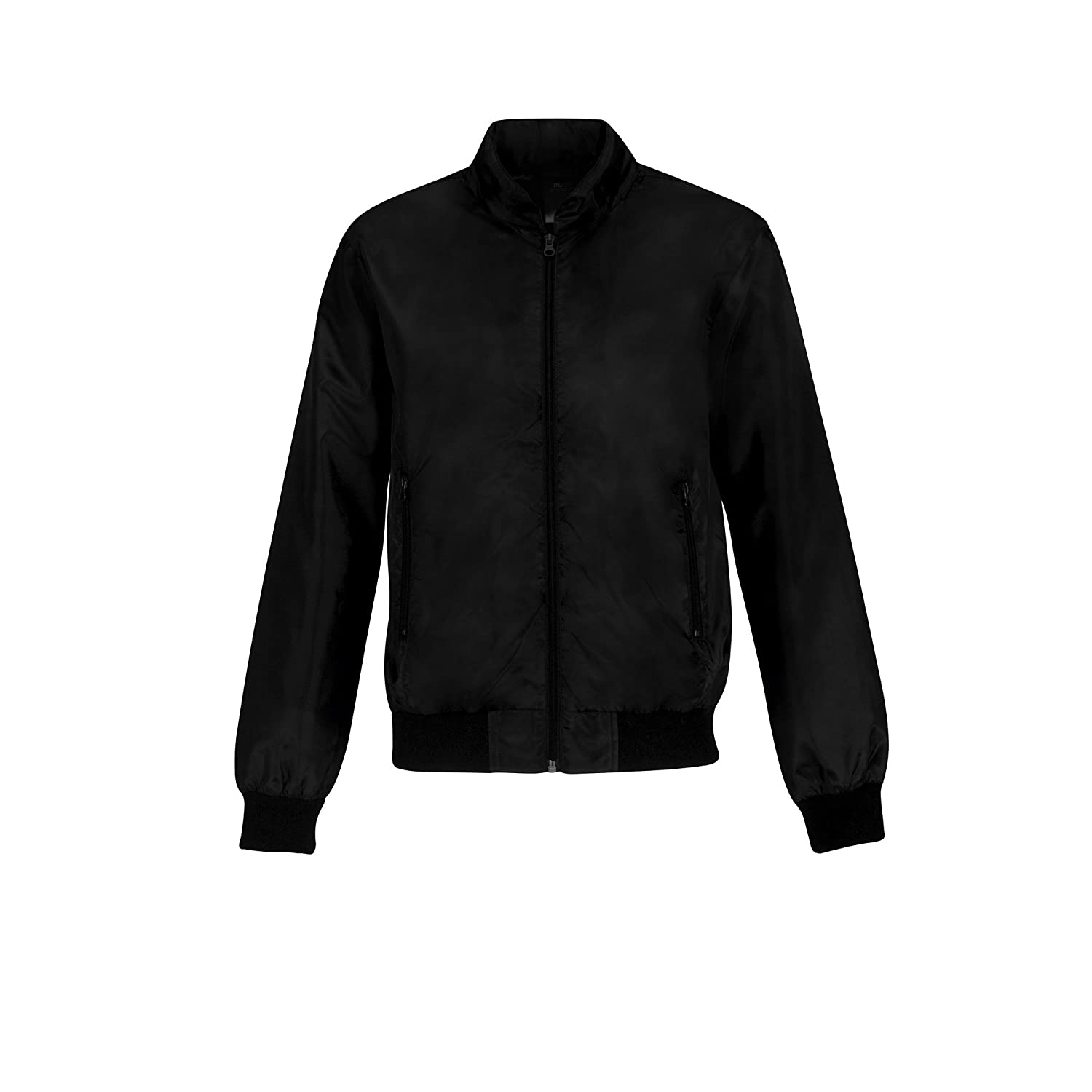 B and C Mens Trooper Lightweight Hooded Bomber Jacket