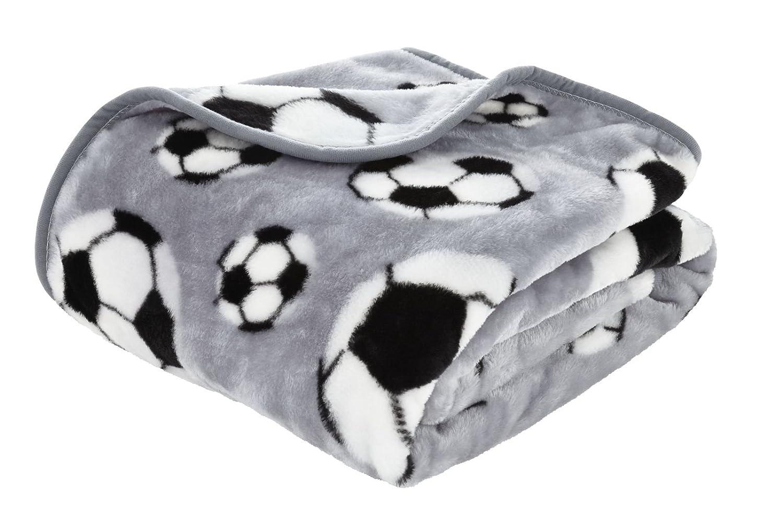 Polyester 150/x 120/x 0.5/cm Gris Catherine Lansfield Football Plaid 120/x 150/cm