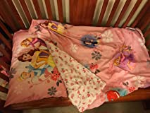 Really cute, soft bedding for toddler bed