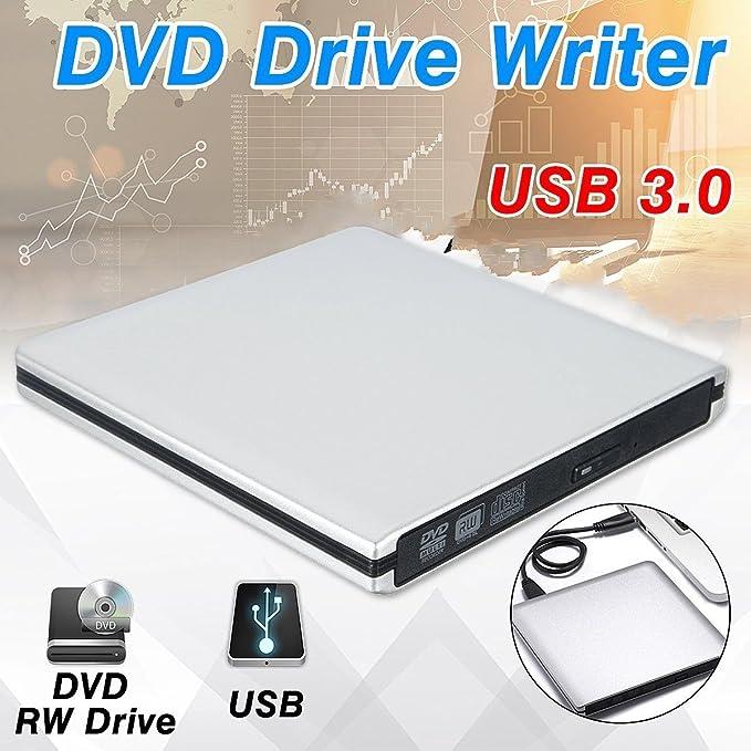 Amazon.com: Unidad de CD externa DVD unidad USB 3.0 portátil ...