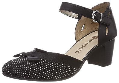 670b8ed42193a8 Remonte Damen D0808 Riemchenpumps  Amazon.de  Schuhe   Handtaschen