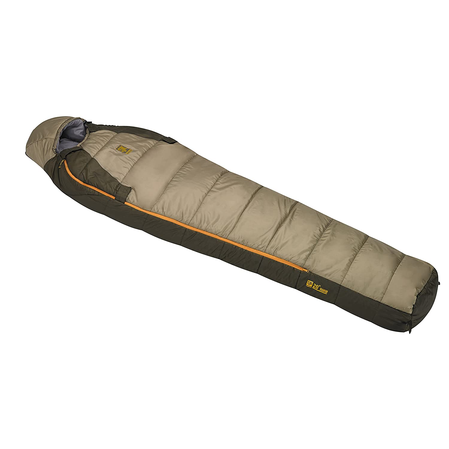 51722415DZ Slumberjack SJK Ronin 20-Degree Sleeping Bag Tan Sportsman Supply Inc