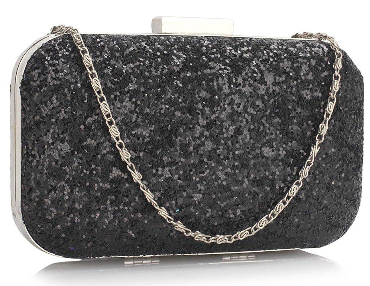7c427cbdb75 LeahWard Women's Clutch Hard Case Handbag Purse For Wedding Night Out  Bridal Purse