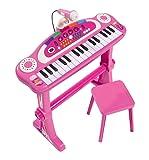 Simba 106830690 - My Music World Girls Standkeyboard 55cm