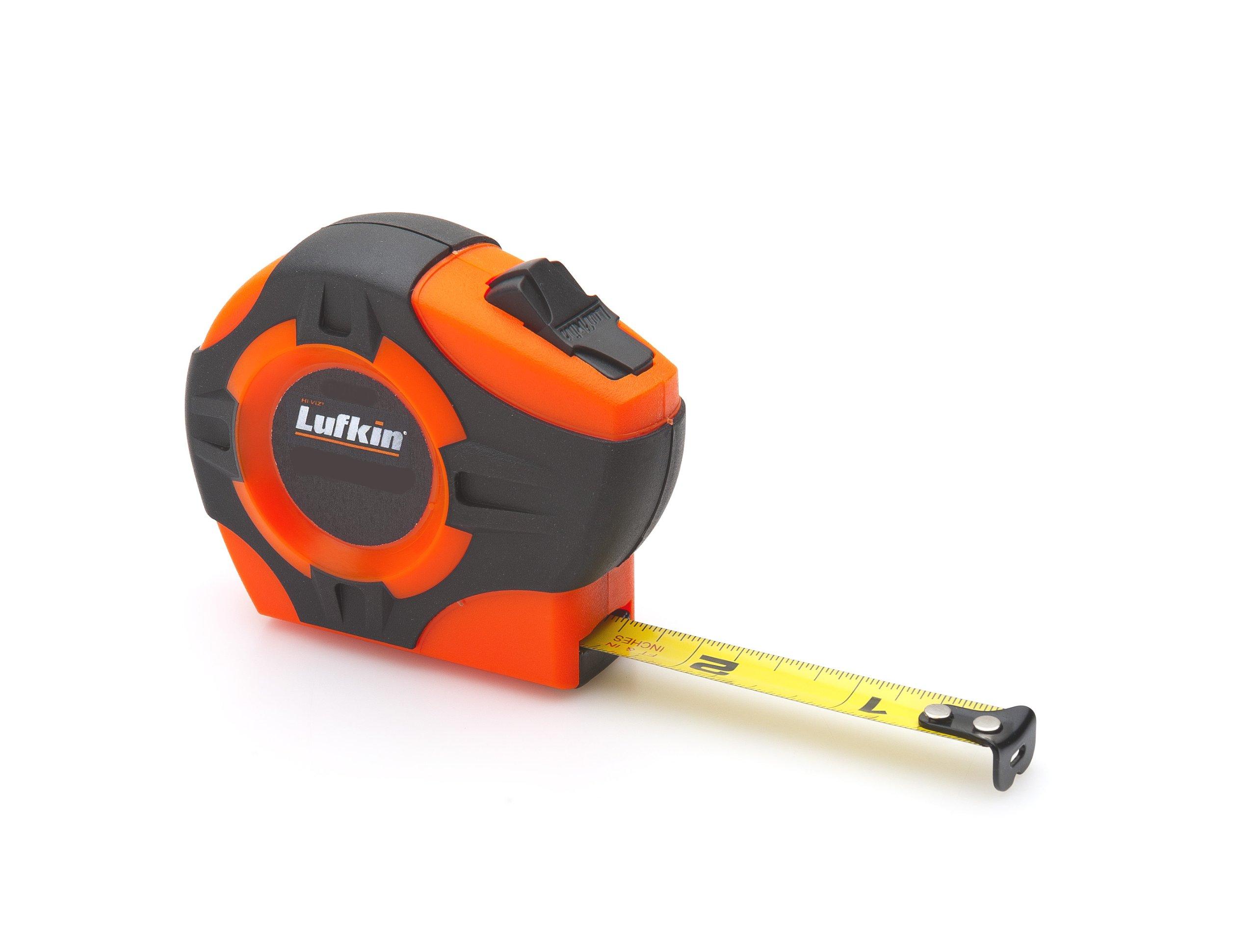 Lufkin PHV1023CME  Power Return Tape, 1/2-Inch by 10-Feet , Hi-Viz Orange