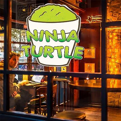 Amazon.com : Die-Cut Sticker Multiple Sizes Ninja Turtle Ice ...