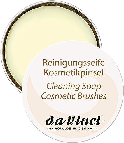 Da Vinci Mini lavado Jabón para brochas de maquillaje & Beauty Blender/Lavado Jabón Pincel/Lavado Jabón/Pincel limpiador/Brush Cleaner, 1er Pack (1 x 13 g): Amazon.es: Belleza