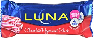 product image for Clif Bar Luna Bar - Organic Chocolate Peppermint - Case of 15 - 1.69 oz - Gluten Free - With Fiber and Protein