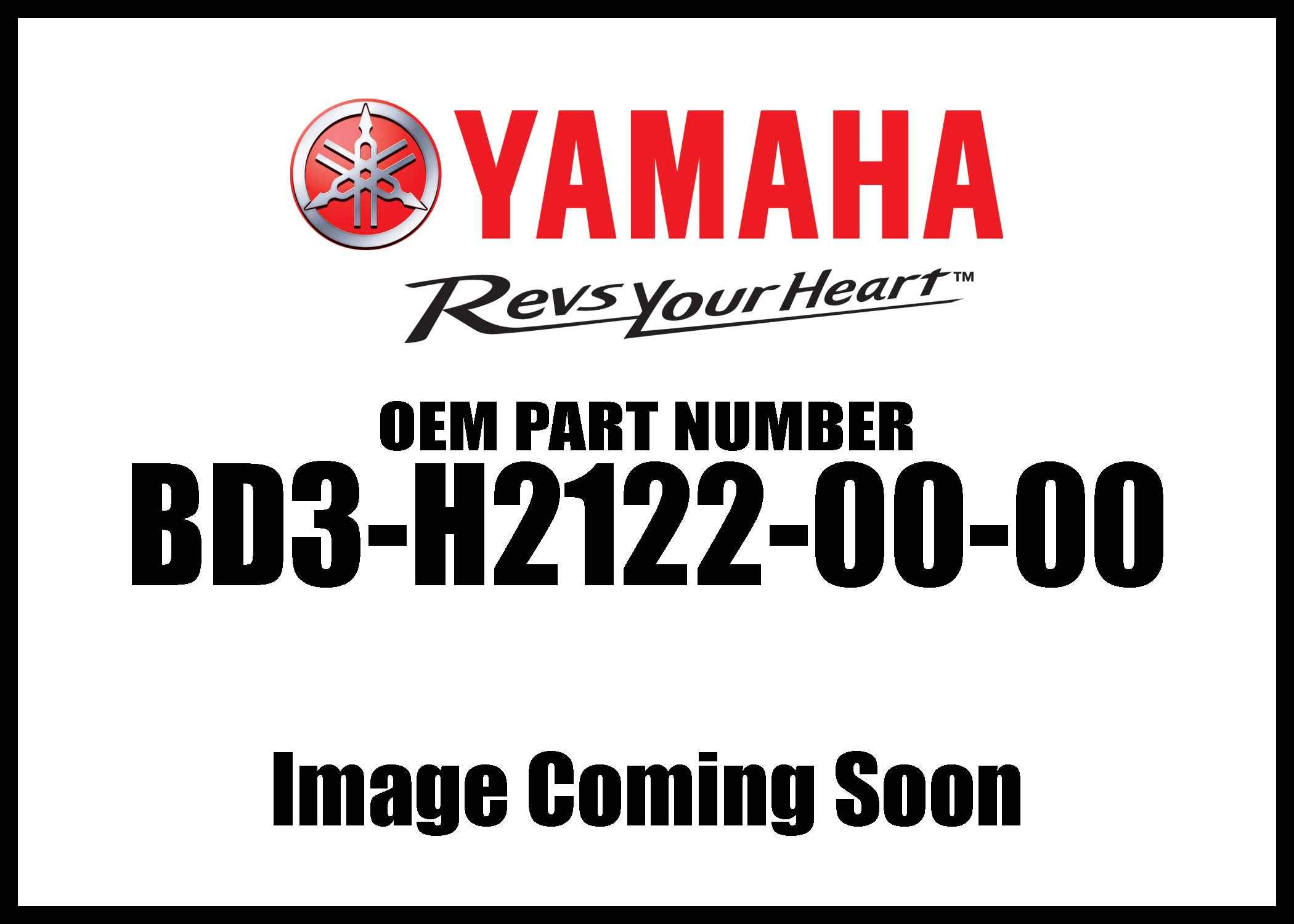 Yamaha Seat Battery Bd3-H2122-00-00 New Oem