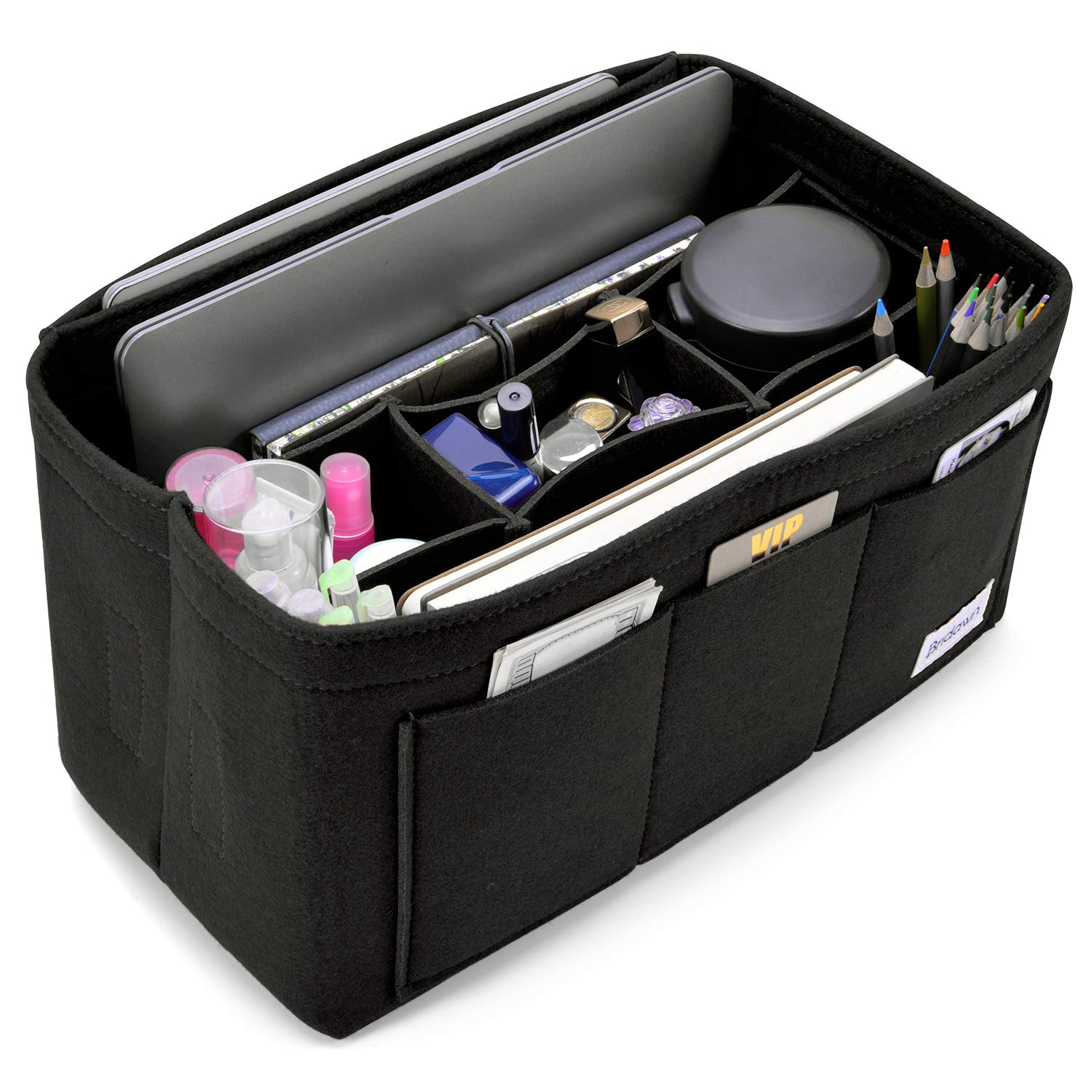 Amazon.com: Bridawn Neverfull - Bolso organizador de fieltro ...