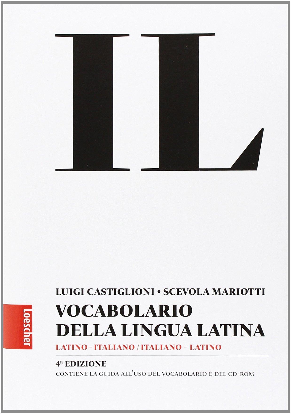 Il vocabolario della lingua latina. Latino-italiano, italiano-latino-Guida all'uso