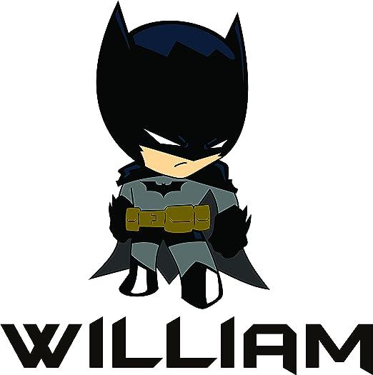 Superhero Batman Head Black /& White Kids Play Room Wall Art Print Sign Decor
